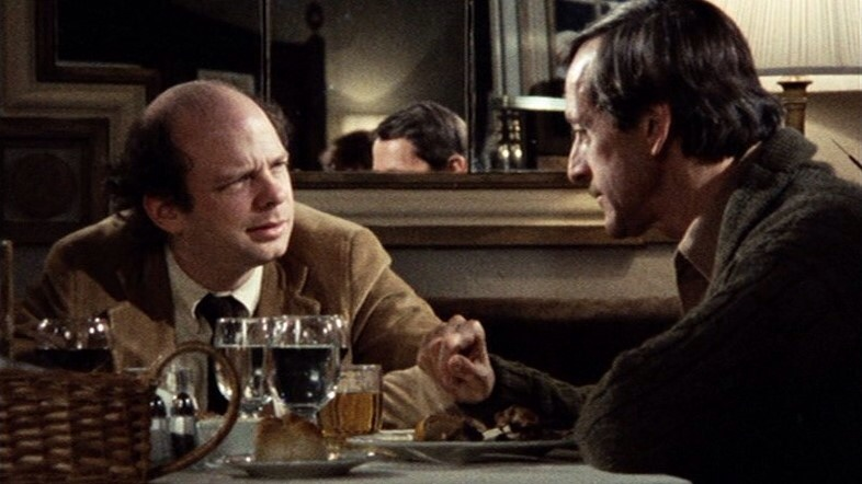 Wallace Shawn and Andre Gregory in My Dinner With Andre