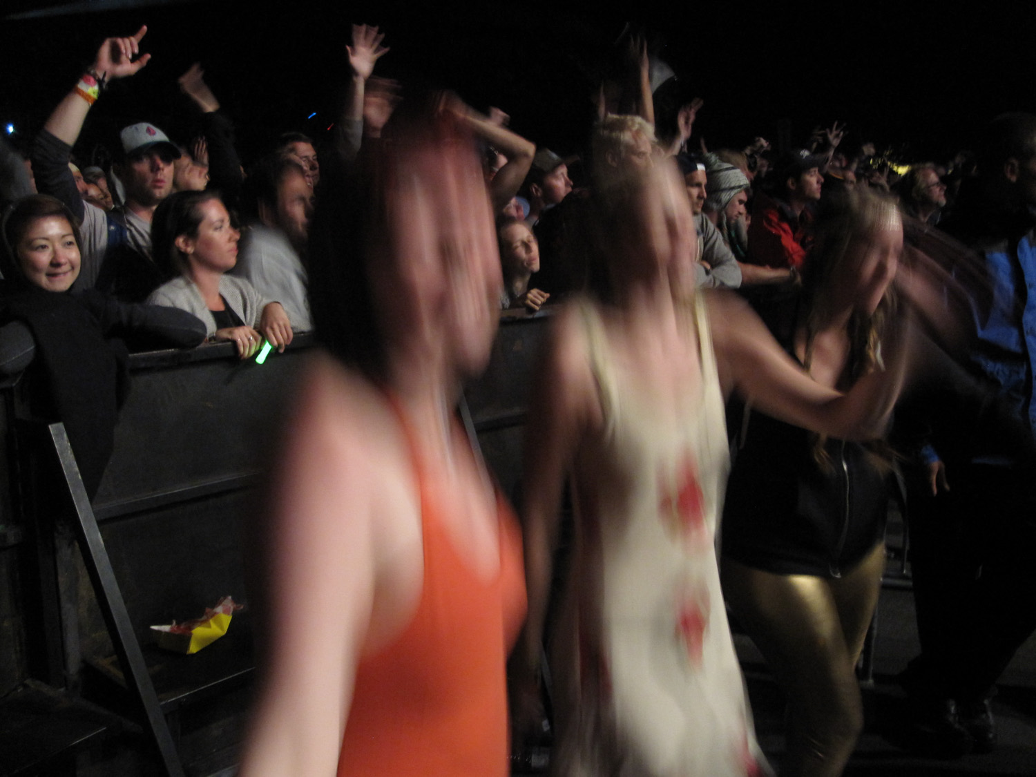 Me and a friend dancing at Mumford & Sons at Sasquatch!