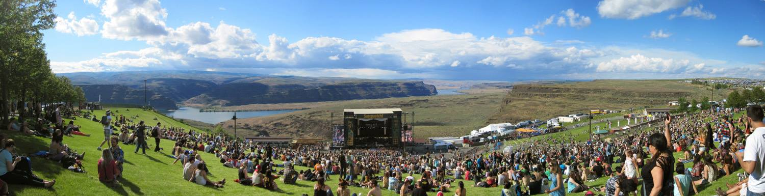 The Gorge Amphitheatre at Sasquatch!