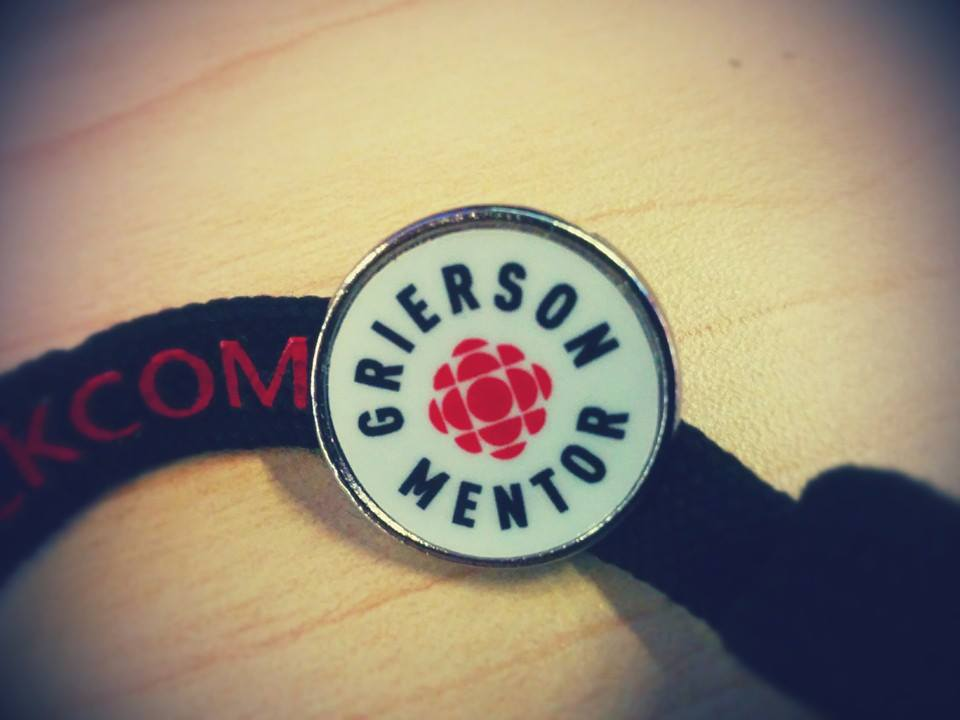 My Grierson Mentorship Award.