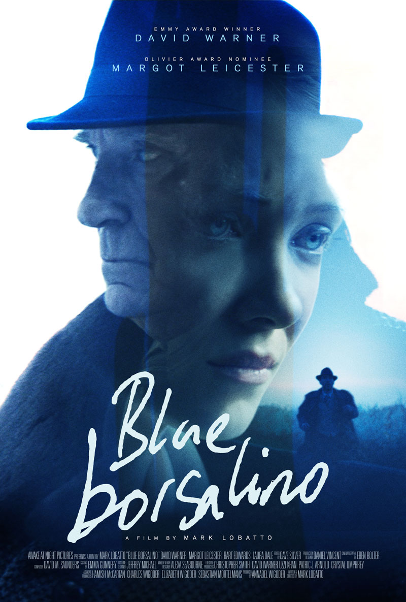 Blue Borsalino poster (Ben Parker)