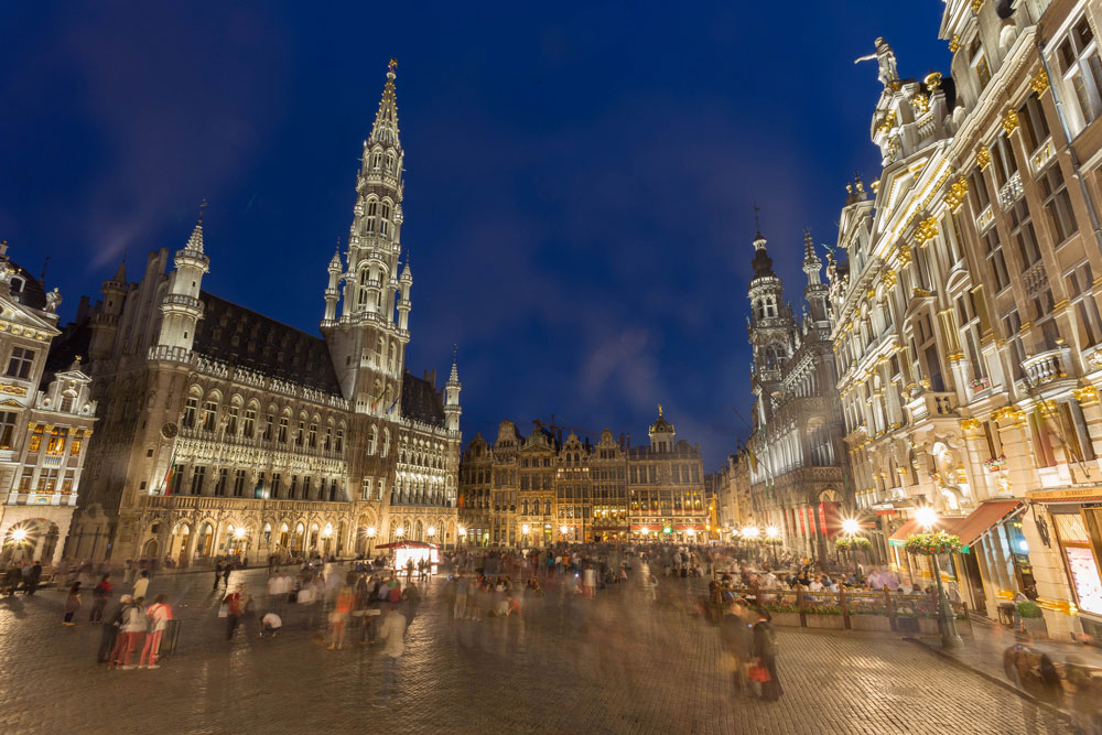 The Grand Place in Brussels, Belgium (Jiuguang Wang/Flickr)