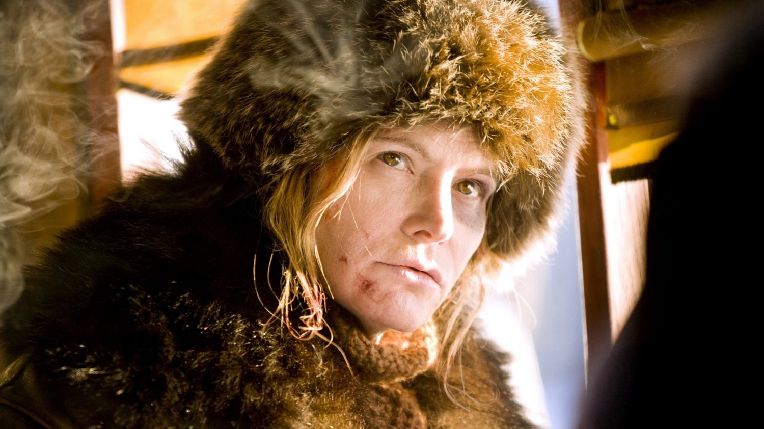 Jennifer Jason Leigh in The Hateful Eight (Allstar/The Weinstein Company)
